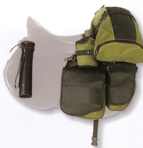 """Полный комплект перемётных сумок и аксессуаров рейдового седла """"Prestige"""""""