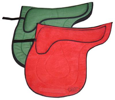 Потник тиковый, микрофибровый с тройным  выпуклым амортизирующим слоем