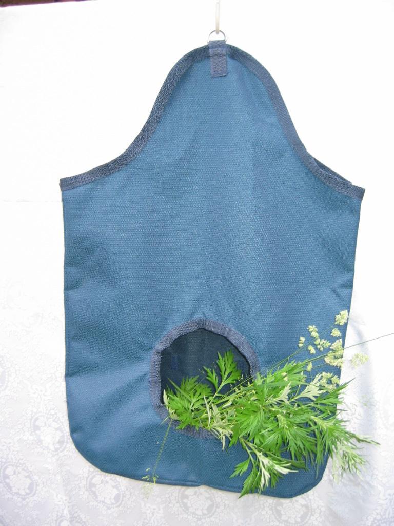 Сумка для сена  (рептух из ткани)