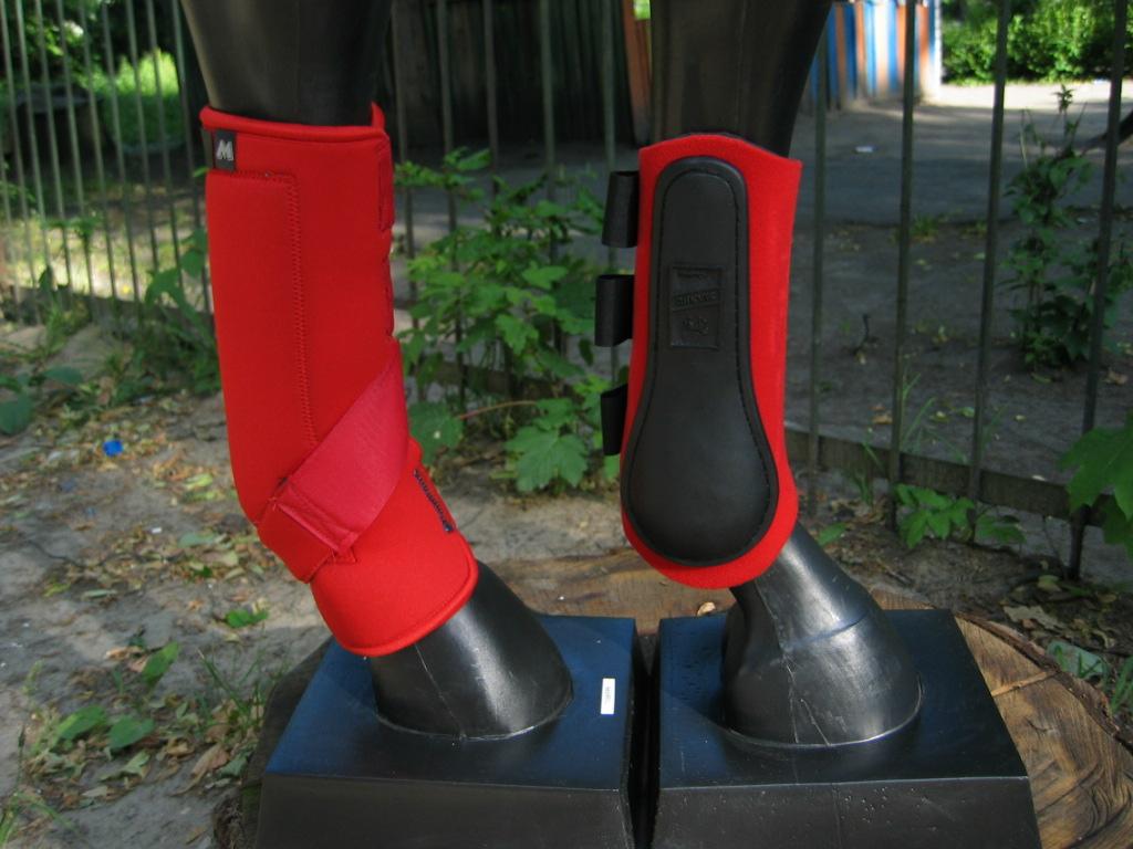 Ногавки выездковые и универсальные поддерживающие и Ногавки – щитки неопреновые закрытые