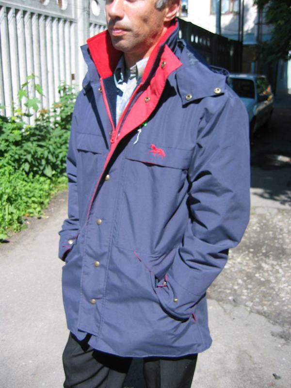 Куртка – ветровка противлдождевая «Gregor»