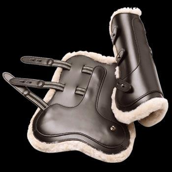 """Ногавки """"Prestige"""" передние кожаные"""