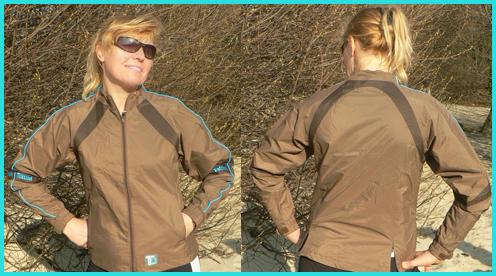 Куртка-ветровка непромокаемая